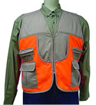 Allen 15782 Orange/Brown Medium Upland Hunting Vest