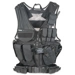 Fab Defense GMTV1 Black Tactical Vest