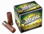 Hevishot Hevi Metal Waterfowl Shotshells 33354, 12 Gauge, 3 1/2 in, 1 1/2 oz, 1500 fps, #4 Hevi Metal Shot, 25 Rd/bx