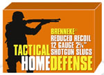 Brenneke Tactical Home Defense Slugs SL122THD-1205126, 12 Gauge, 2 3/4 in, 1 oz, 1378 fps, 5 Rd/bx