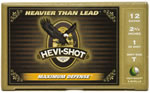 Hevishot Max Defense Shotshells 52751, 12 Gauge, 2 3/4 in, 1 oz, 1255 fps, #T Hevi-Density Home Defense Shot , 5 Rd/bx
