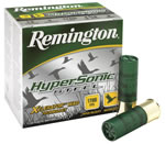 Remington HyperSonic Steel HSS124, 12 Gauge, 3 in, 1 1/8 oz, 1700 fps, #4 Steel Shot, 25 Rd/bx, Case of 10 Boxes