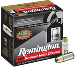 Remington HD Ultimate Home Defense Ammunition HD45APB, 45 , Brass Jacket Hollow Point, 230 GR, 875 fps, 25 Rd/bx