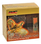 PMC One Shot High Velocity Magnum Steel HVST12354, 12 Gauge, 3 1/2 in, 1 3/8 oz, 1550 fps, #4 Steel Shot, 25 Rd/bx