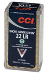 CCI Mini-Mag Ammunition 952, 22 Long Rifle, PTC, 21GR, 1650 fps, 50 Rd/bx