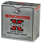 Winchester Super X Heavy Game XU12H6, 12 Gauge, 2 3/4 in, 1 1/8 oz, 1255 fps, #6 Lead Shot, 25 Rd/bx, Case of 10 Boxes