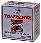 Winchester Super X High Brass Game Load X16H4, 16 Gauge, 2 3/4 in, 1 1/8 oz, 1295 fps, #4 Lead Shot, 25 Rd/bx, Case of 10 Boxes