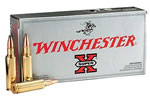 Winchester Super-X Centerfire Rifle Ammunition X2431, 243 Winchester, Pointed Soft Point, 80 GR, 3350 fps, 20 Rd/bx