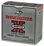 Winchester Super X Heavy Field XU12SP7, 12 Gauge, 2 3/4 in, 1 1/4 oz, 1220 fps, #7 1/2 Lead Shot, 25 Rd/bx, Case of 10 Boxes