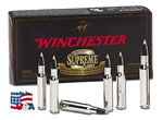Winchester Supreme Centerfire Rifle Ammunition S7MMCTA, 7 MM Remington Mag, Accubond CT, 140 GR, 3180 fps, 20 Rd/bx