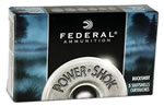 Federal Premium Power Shok F1304B, 12 Gauge, 2 3/4 in, 34 Pellets, 1250 fps, #4 Lead Buckshot, 5 Rd/bx