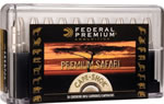 Federal Premium Cape Shok Ammunition P470T1, 470 Nitro Express, Trophy Bonded Bear Claw, 500 GR, 2150 fps, 20 Rd/bx
