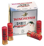 Winchester Xpert High Velocity Steel WEX123H4, 12 Gauge, 3 in, 1 1/4 oz, 1400 fps, #4 Steel Shot, 25 Rd/bx, Case of 10 Boxes