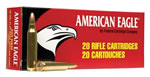 Federal American Eagle Ammunition A76239A, 7.62 mm X 39 mm, Metal Case, 124 GR, 2300 fps, 20 Rd/bx