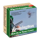 Remington Gun Club Target Loads GC207, 20 Gauge, 2 3/4 in, 7/8 oz, 1200 fps, #7 1/2 Lead Shot, 25 Rd/bx, Case of 10 Boxes