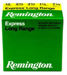 Remington Express Long Range SP122, 12 Gauge, 2 3/4 in, 1 1/4 oz, 1330 fps, #2 Lead Shot, 25 Rd/bx, Case of 10 Boxes