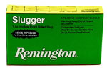 Remington Slugger S12MRS, 12 Gauge, 3 in, 1 oz, 1760 fps, Lead Foster-Style Slug, 5 Rd/bx,  for Smooth Bore Barrels