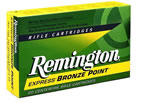 Remington Centerfire Rifle Cartridges R30RAR1, 30 Remington AR, Pointed Soft Point Core-Lokt, 125 GR, 2800 fps, 20 Rd/bx