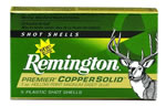 Remington Premier Coppersolid PR12MCS, 12 Gauge, 3 in, 1 oz, 1550 fps, Copper Slug, 5 Rd/bx