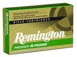 Remington Premier A-Frame Rifle Ammunition PR338UM1, 338 Remington Ultra Mag, A-Frame Pointed Soft Point, 250 GR, 2860 fps, 20 Rd/bx