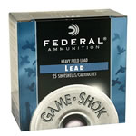 Federal Premium Game Shok Game Load H2008, 20 Gauge, 2 3/4 in, 7/8 oz, 1210 fps, #8 Lead Shot, 25 Rd/bx, Case of 10 Boxes