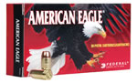 Federal American Eagle Ammunition AE38S3, 38 Super +P, Jacketed Hollow Point, 115 GR, 1130 fps, 50 round