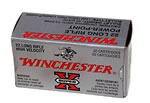 Winchester Super X Rimfire Ammunition X22LRPP, 22 Long Rifle, Power-Point, 40 GR, 1280 fps, 50 Rd/bx