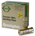 Remington Premier Nitro Sporting Clays STS12NSC17, 12 Gauge, 2 3/4 in, 1 oz, 1350 fps, #7 1/2 Lead Shot, 25 Rd/bx, Case of 10 Boxes