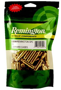 Remington RC243W Unprimed Brass Cases 243 Winchester 50/Bag, (Not Loaded)