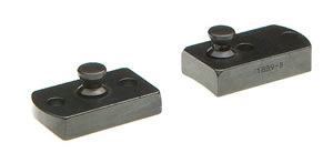 B-Square Lynx 2339A 2 Piece Stainless Steel Stud Base For Savage AccuTrigger Models