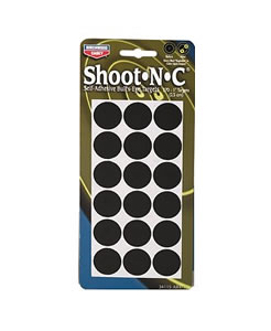 Birchwood Casey 34115 Shoot-N-C AR415 1 in Self Adhesive Round Targets 15 Pack