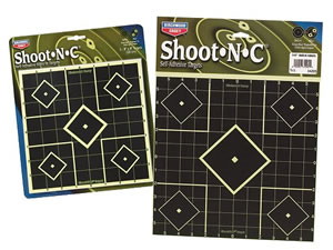 Birchwood Casey 34205 Shoot-N-C 12x12 Sight In Targets 5 Pack