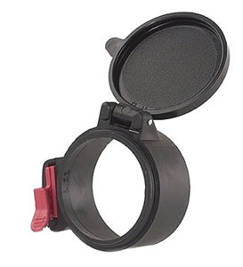 Butler Creek 33334 Flip Up Scope Cover Objective Piece 33-34 Black