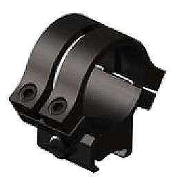 Weaver Quad-Lock Rings 49053, Quad Lock Tipoff, Medium, 1 in, Matte Black