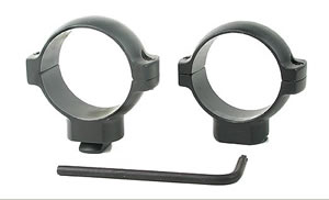 Burris 30mm Standard Rings 420331, Fits Redfield,Leupold,BRN & Millett Mounts, High, 30mm, Matte Black Steel