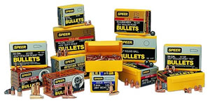 Speer 2407 338 Cal 225 Grain Grand Slam Protected Point 50/Box, (Not Loaded)