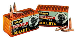 Speer 1465 270 Cal 130 Grain Grand Slam Protected Point 50/Box, (Not Loaded)