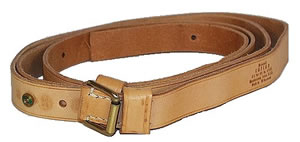 Brownels Quick Adjust Leather Sling w/Swivel 30200