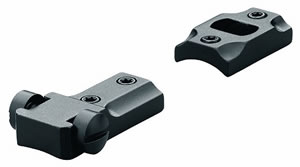 Leupold 50018 Standard 2 Piece Reversible Front Matte Base For Remington 700