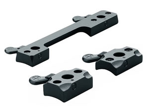 Leupold 51709 2 Piece Quick Release Matte Base for Weatherby Mark V