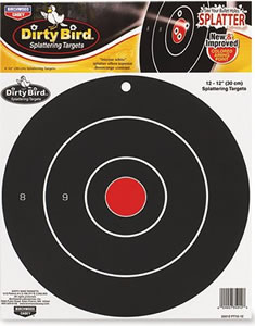 Birchwood Casey 35012 Dirty Bird 12 in Target 12 Pack