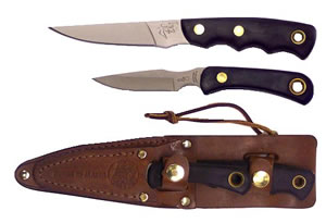 Knives Of Alaska Jaeger/Cub Fixed Knife Combo Set 256FG