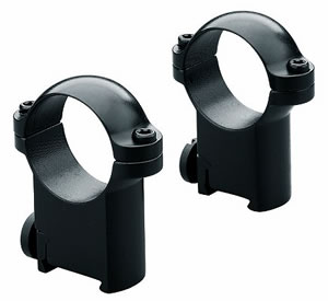 Leupold Sako Ring Mounts 49948, Sako, High, 1 in, Gloss Black
