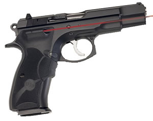 Crimson Trace LG475 Lasergrip For CZ75B Full Size Front Activation