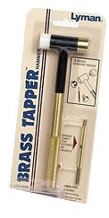 Lyman 7031290 Brass Tapper Hammer w/3 Interchangeable Heads