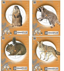 Champion 45781 Critter Series Practice Targets 10 Pack