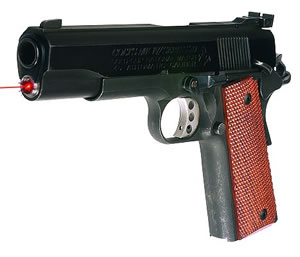 Lasermax LMS1911B Polished Blue Laser Sight For 1911 Government