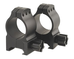 Warne Tactical Rings 602M, Tactical, High, 1 in, Matte