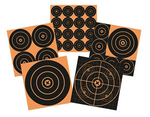 Birchwood Casey 36612 Big Burst 12 Pack 6 in Adhesive Paper Targets