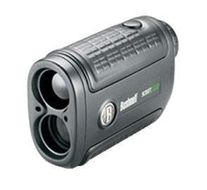 Bushnell Yardage Pro Scout 1000 w/Arc Rangefinder 201932, 5x, 24mm, Black, Carrying Case